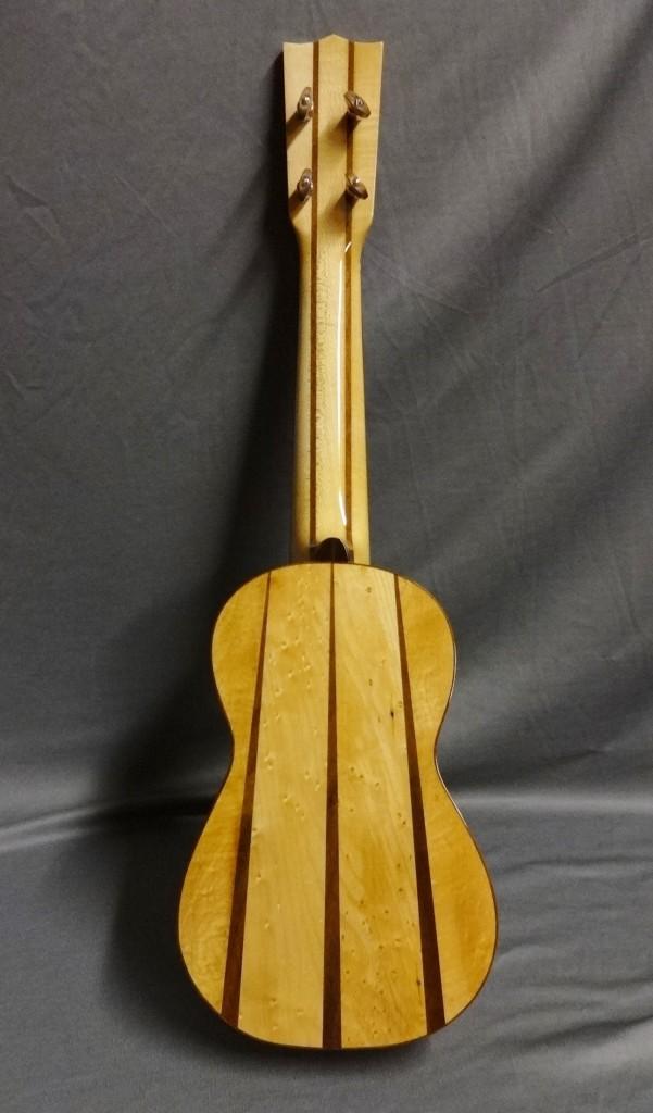 Zimnicki soprano ukulele back.
