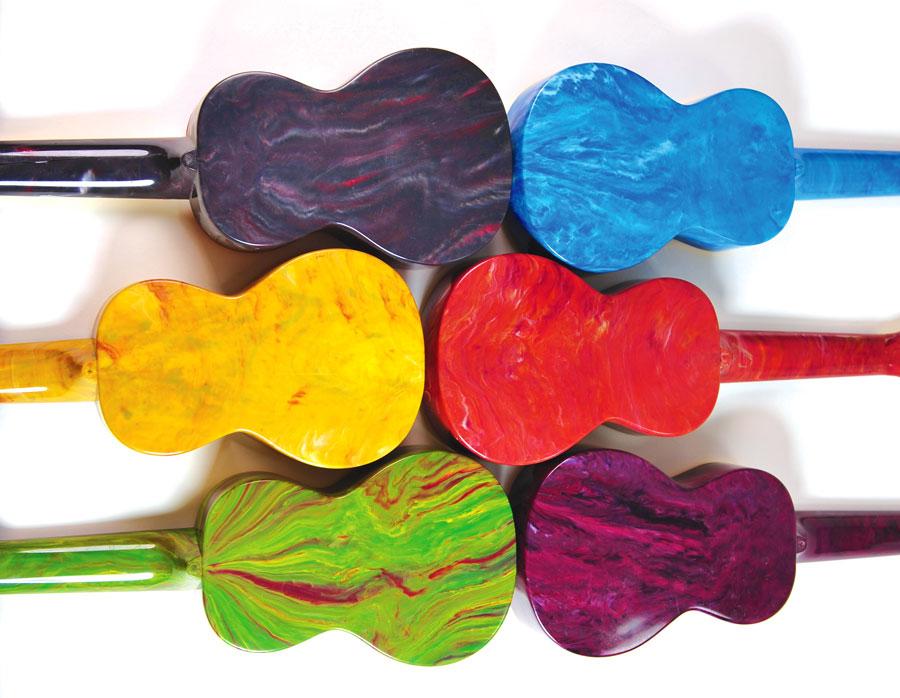 Plastic Ukulele Instruments