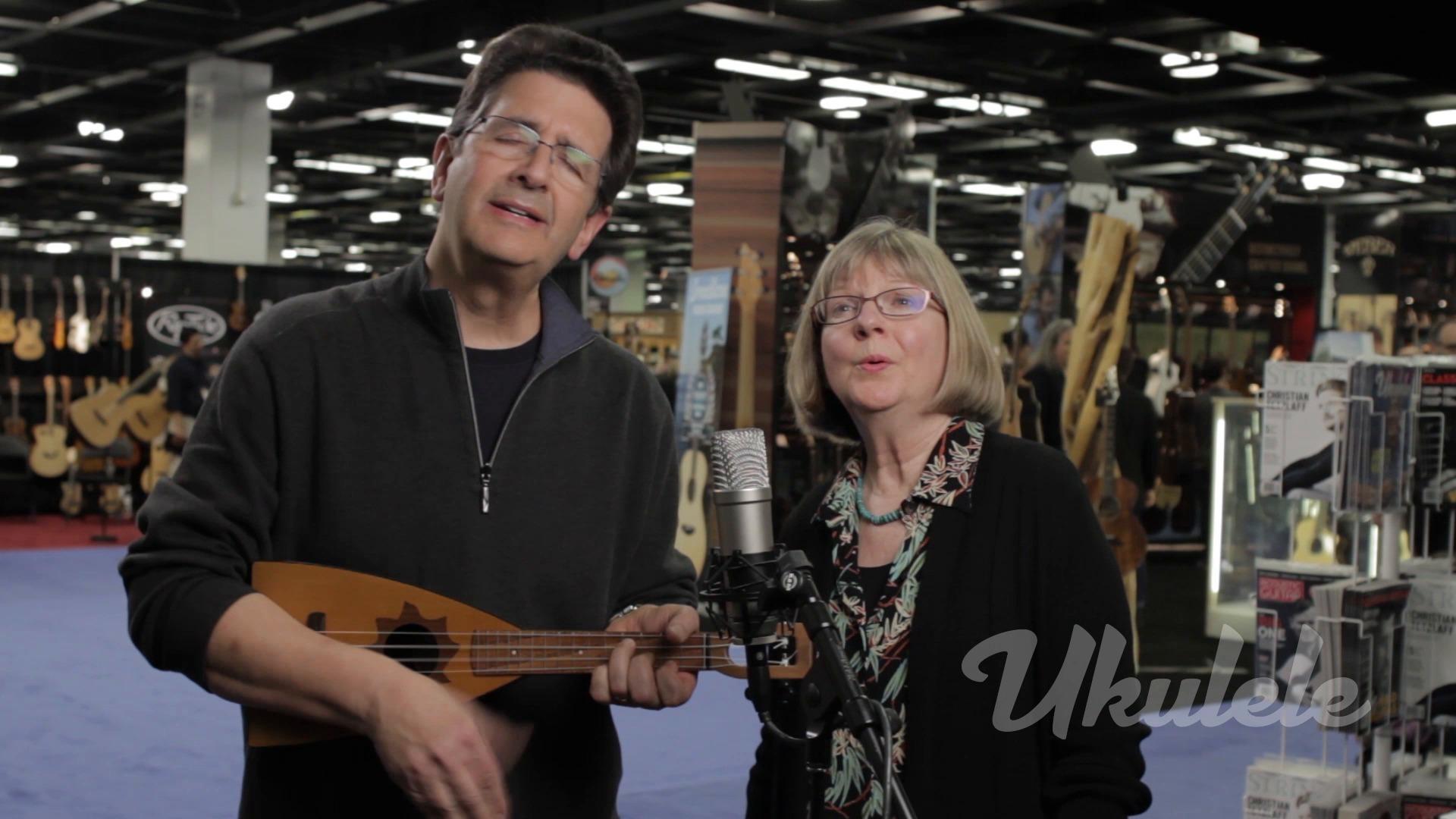 Liz and Jim Beloff Ukulele Session Winter NAMM 2016