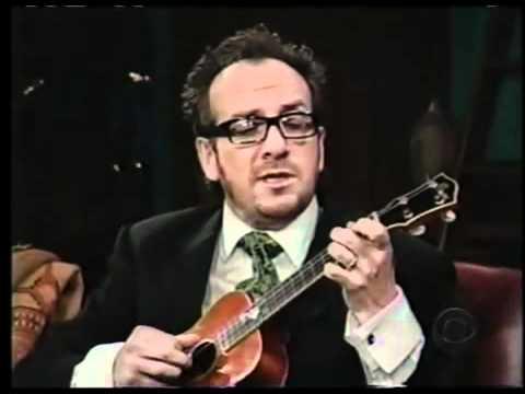 Happy Valentine's Day: Watch Elvis Costello Perform 'The Scarlet Tide' on Ukulele