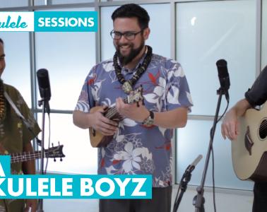 Da Ukulele Boyz Ukulele Magazine Session Hawaii