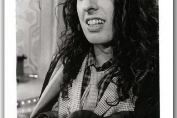 A signed fanclub photo of Tiny Tim. Courtesy of tinytim.org