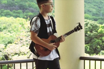 14-Year-Old Aidan James Made Us Want to Put Our Ukuleles Away