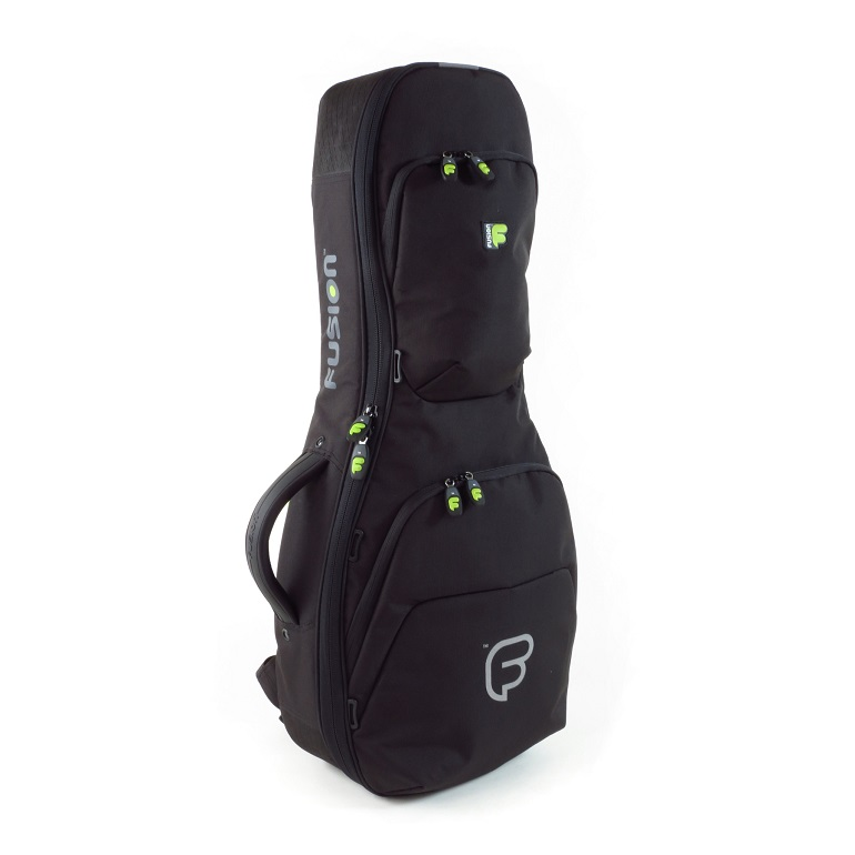 The Fusion Urban ukulele gig bags are heavily padded and feature-loaded.