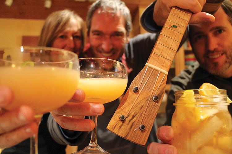 maya moe ukulele tiki cocktail rye whiskey uke hawaii