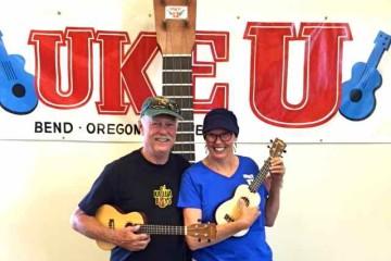 'Ukulele University' founders Bob and Linda Rasmussen