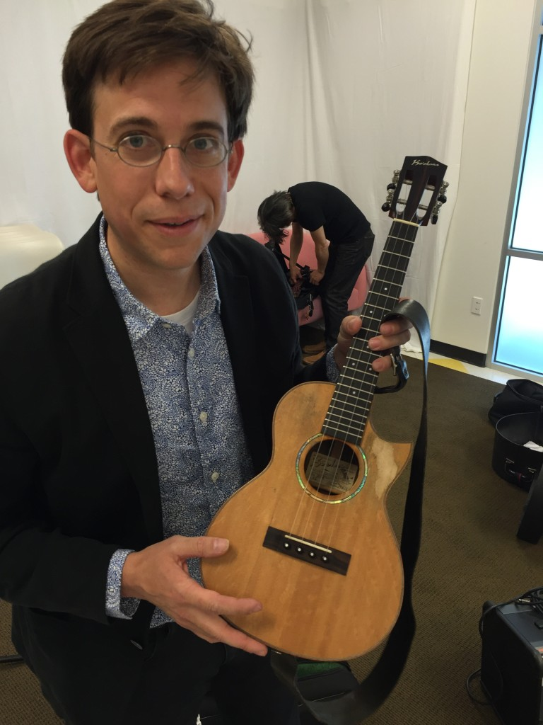Hemmings showing off his well-loved tenor.