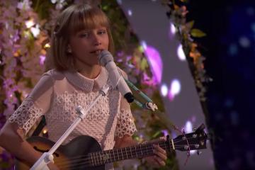 Grace VanderWaal at the finals of America's Got Talent, Sept. 13, 2016.