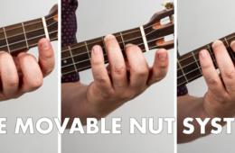 The Movable Nut System Chord Shapes Ukulele Jumpin Jim Lesson Tips