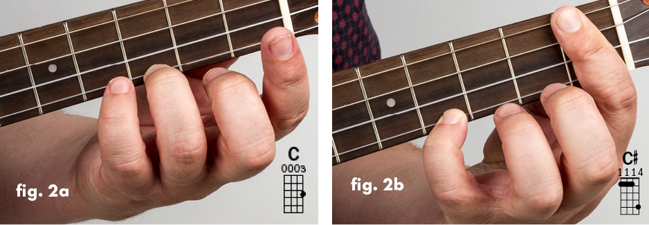 The Movable Nut System Chord Shapes Ukulele Jumpin Jim Lesson Tips fig2