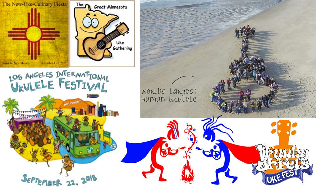 ukulele events september october 2018
