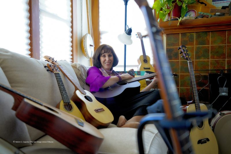 jess baron, founder of guitars and ukes in the classroom
