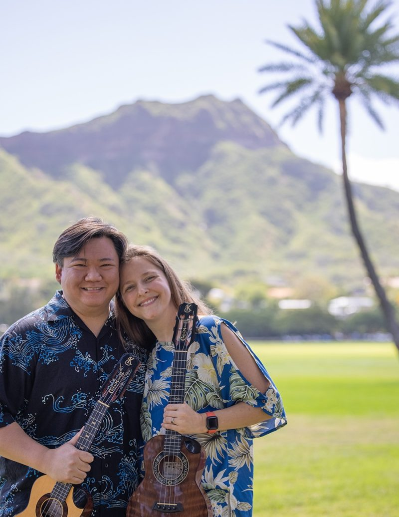 craig chee and sarah maisel ukulele festival hawaii